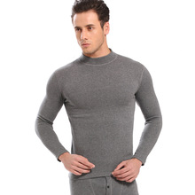 New thermal underwear set mens long johns male Autumn winter shirt+pants 2 piece set warm thick plus size M-XXXL