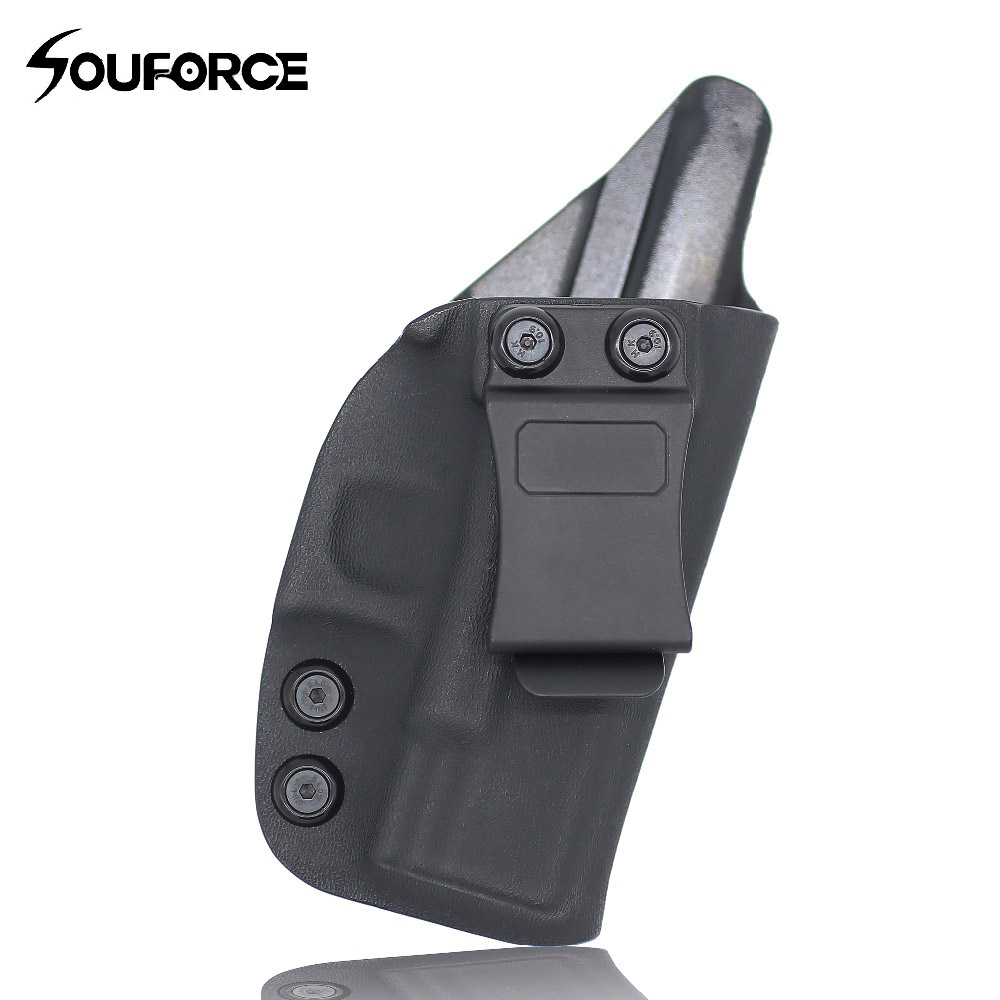 Tactical IWB Kydex Holster For Pistol Glock 17 19 19X 22 23 26 27 31 32 33 43 CCW