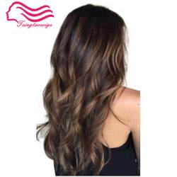 Бесплатная доставка 100% европейские волосы слои парики, небольшая волна, индивидуальный заказ, еврейский парик, Кошерный парик Best Sheitels В