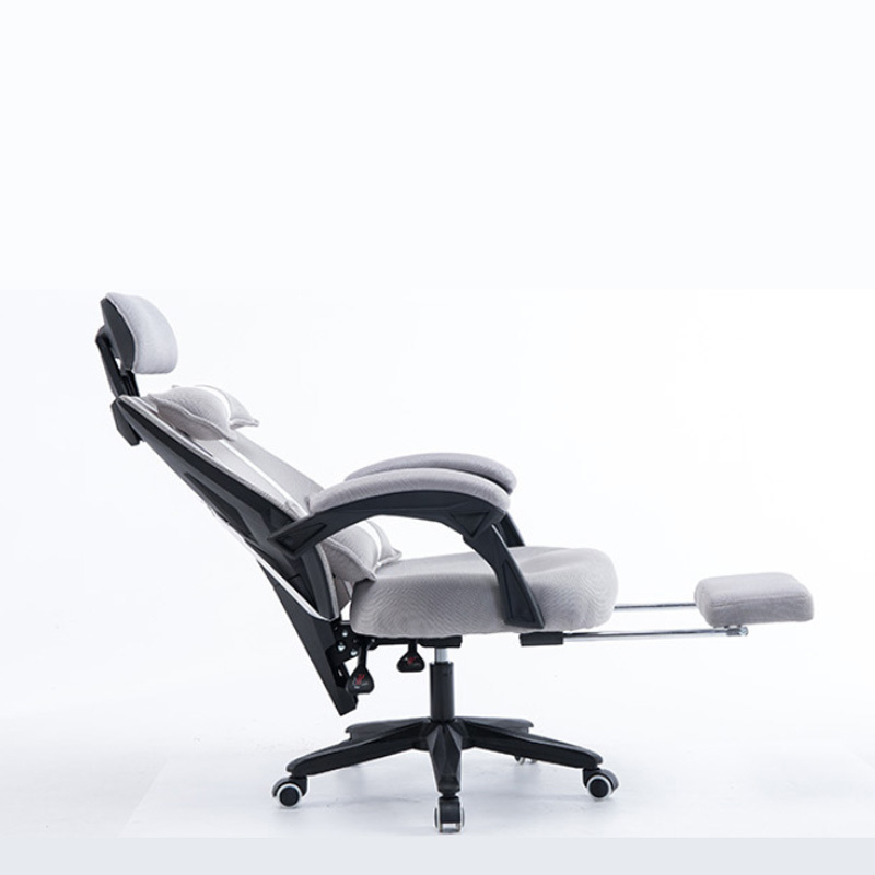 WB#3152 Auman computer home office cloth seat staff boss lunch Gaming chair 240337 ergonomic chair quality pu wheel household office chair computer chair 3d thick cushion high breathable mesh