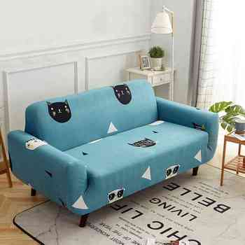 Cute Cartoon Printed Recliner Couch Covers Single/Double ...