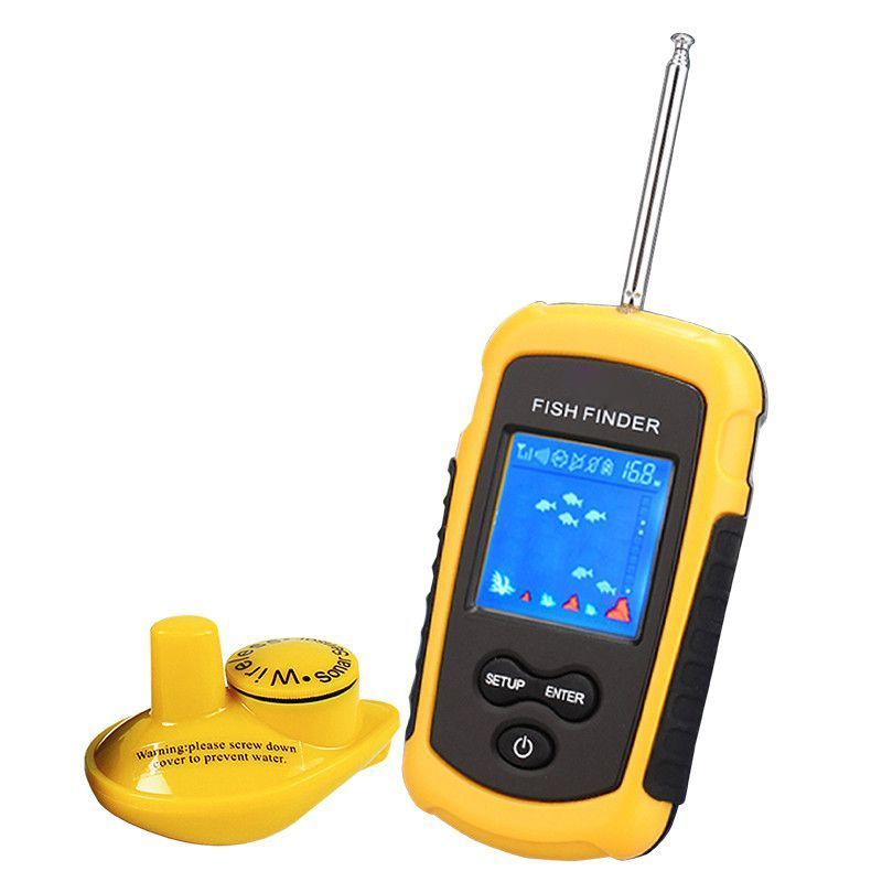 Marine GPS Fish Finder Sonar Wireless Fish Detector Visual