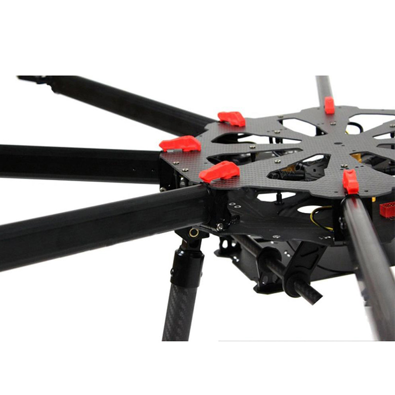Tarot TL8X000 X8 8 Aixs Umbrella Type Folding Multicopter Octocopter Aerial Aircraft Drone UAV with Retractable Landing Gear for