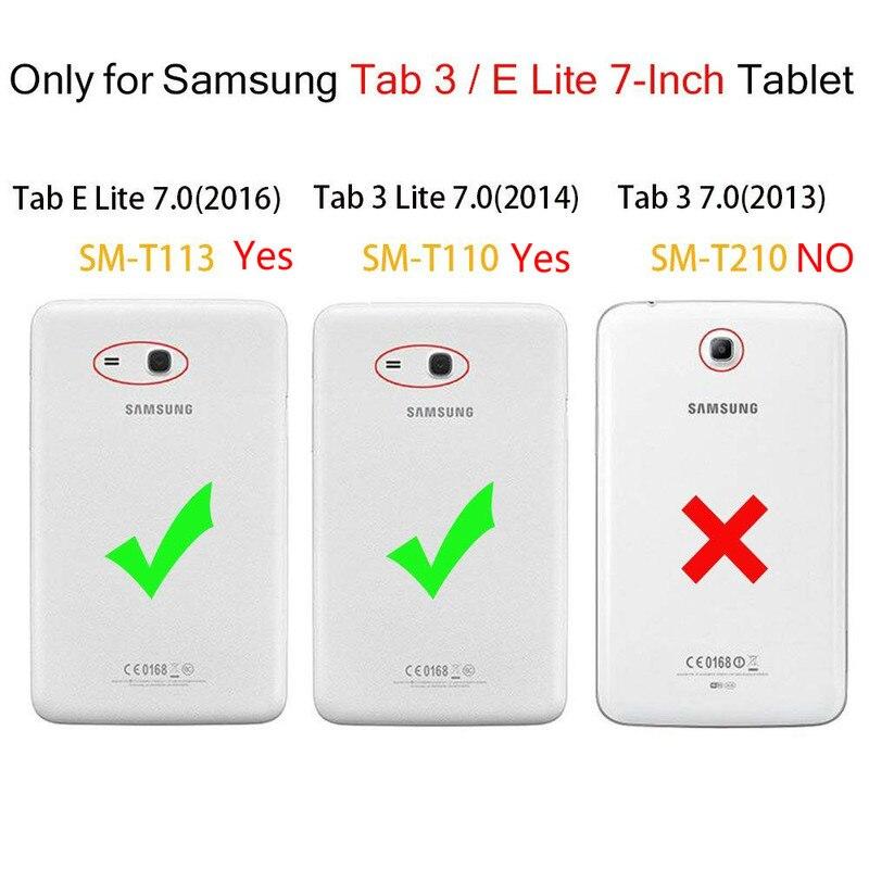 """Закаленное стекло для Galaxy Tab 3 lite 7,"""" Защита экрана для samsung Galaxy Tab E lite 7,0 SM-T113 T110 T111 T116 стекло для планшета"""