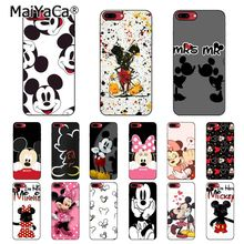 MaiYaCa Beauty Kissing Mickey and Minnie Phone Case For iphone 11 Pro 11Pro Max 8 7 6 6S Plus 5 5S SE XR X XS MAX