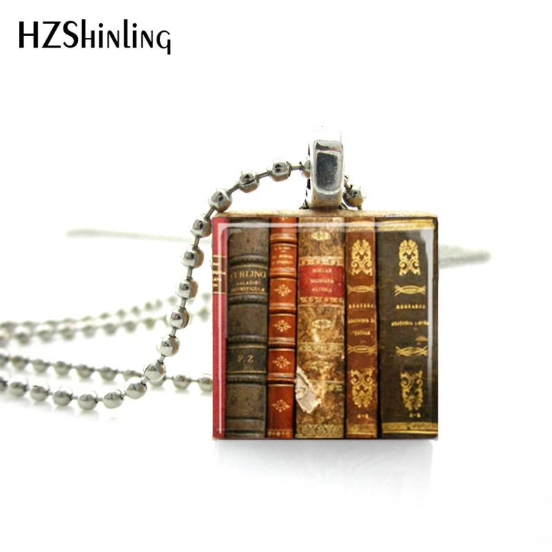 HTB1K8RGaIfrK1RjSszcq6xGGFXa0 - Fashion Vintage Old Books Scrabble Game Tile Ball Chain Necklaces Books Wooden Scrabble Tiles Jewelry