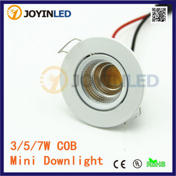2015 new 3W COB MINI led spotlights AC85-260V down lights
