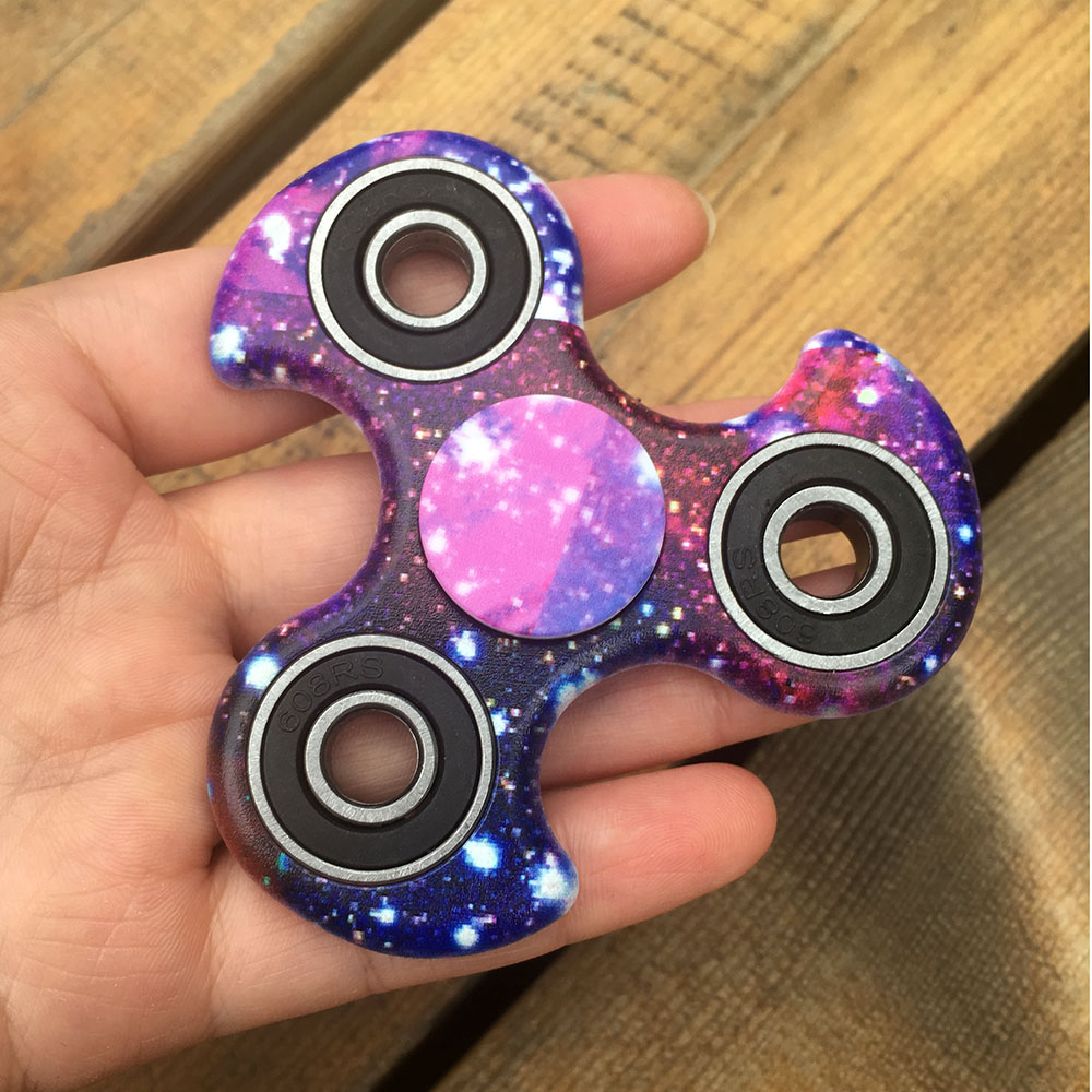 Camo Patterned Fidget Spinner Metal Tri-Spinner EDC Hand Finger Spinner for Autism and ADHD Relief Stress Toys Kids Gift fidget hand spinner brass metal edc finger spinner anti stress hand spinner for autism adhd toys gift spinning top