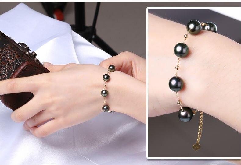 gold pearl bracelets 99