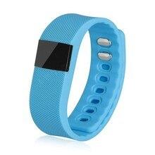 Функциональные tw64 водонепроницаемый bluetooth 4.0 smartband smartwatch шагомер anti потерянный для ios samsung android смартфон