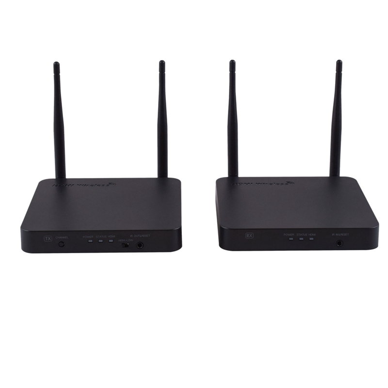 200M Long Range Signal Wireless Hdmi Extender Transmitter & Receiver With IR Remote Support 5Ghz 1080P Video & Digital Audio T