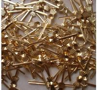 Free Shipping 1000pcs Lot 33mm Chrome Gold Tie Clips Lamp Parts Connector Metal Bowtie Butterfly For