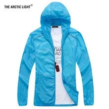 THE ARCTIC LIGHT Summer Outdoor Sport Hiking Jacket Windbreaker Waterproof Sun protection Movement Coat Lightweight Quick-dry