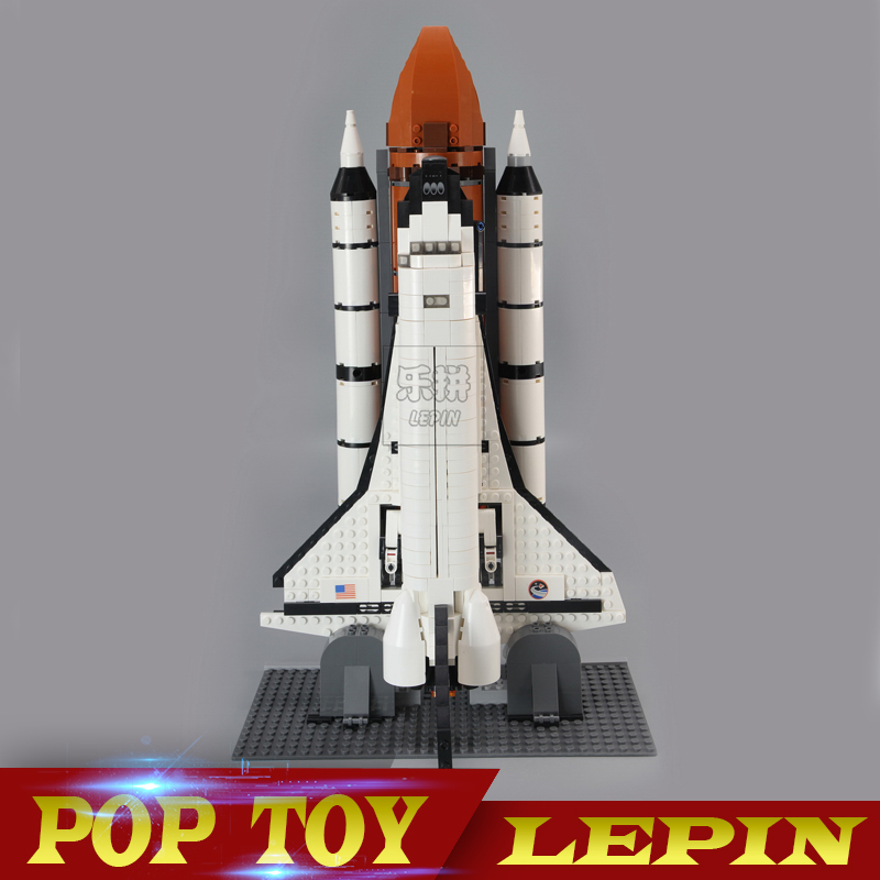 DHL LEPIN 16014 1230Pcs Out of Print Space Shuttle Expedition Model Building Kits Set Blocks Bricks Children Toy 10231 in stock new lepin 16014 1230pcs space shuttle expedition model building kits mini blocks bricks compatible children toy 10231