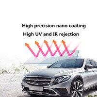 VLT50%~34% Nano Ceramic Photochromic Film UV Proof IR Reflection Solar Tinting Film High Transparency Window Film 152x100cm
