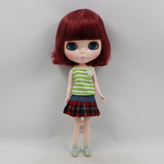 TBL Neo Blythe lutka crvene kose za redovito tijelo