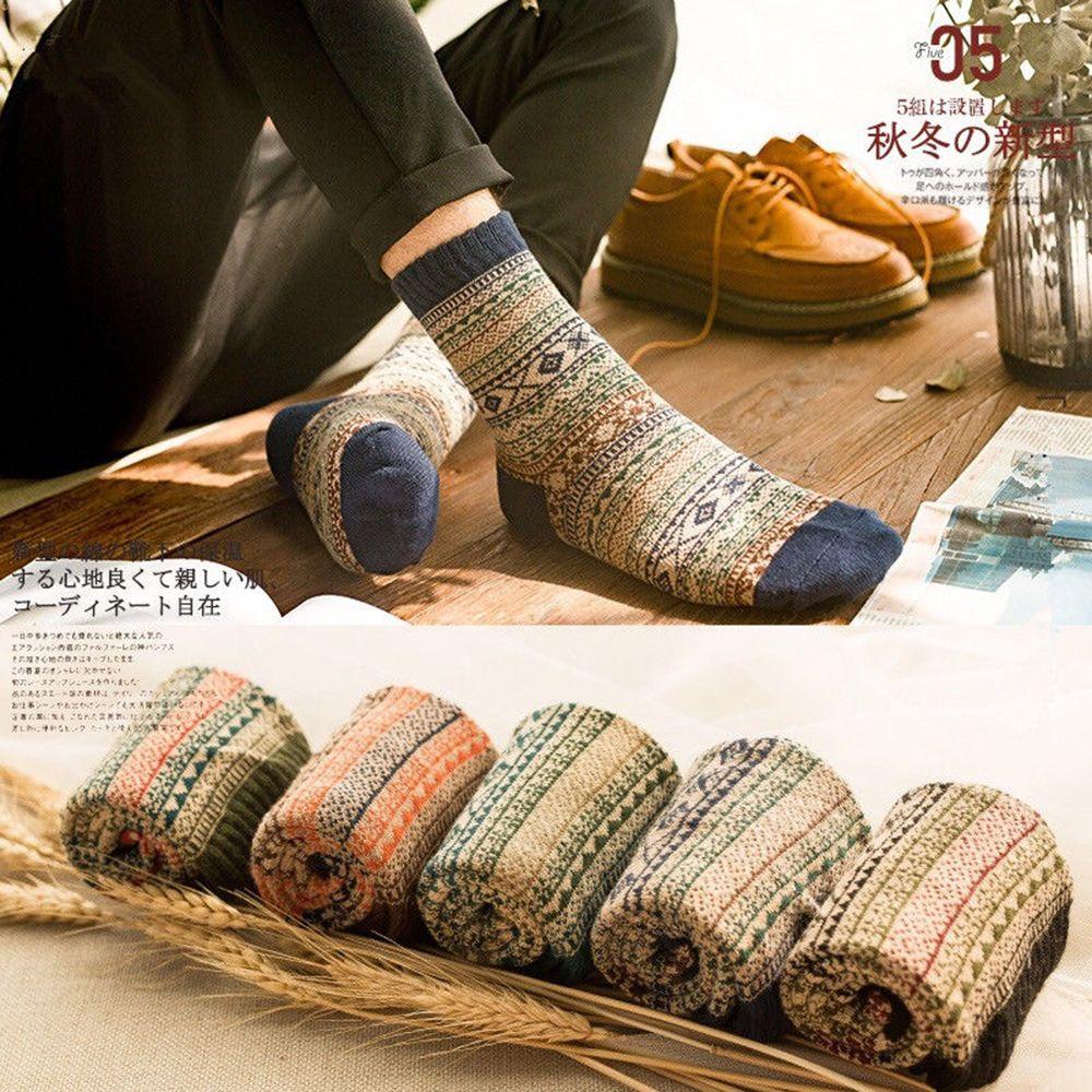 1Pair Sheep Wool Winter Men and Women Warm Socks Cashmere Thick Warm Socks