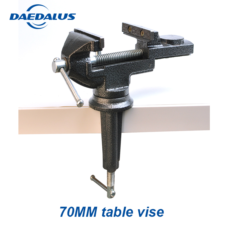 High Carbon Steel Bench Vice 70MM Heavy milling Table Vise Desktop Vise Repair Woodwork Jewelry Making Hand Tool цена