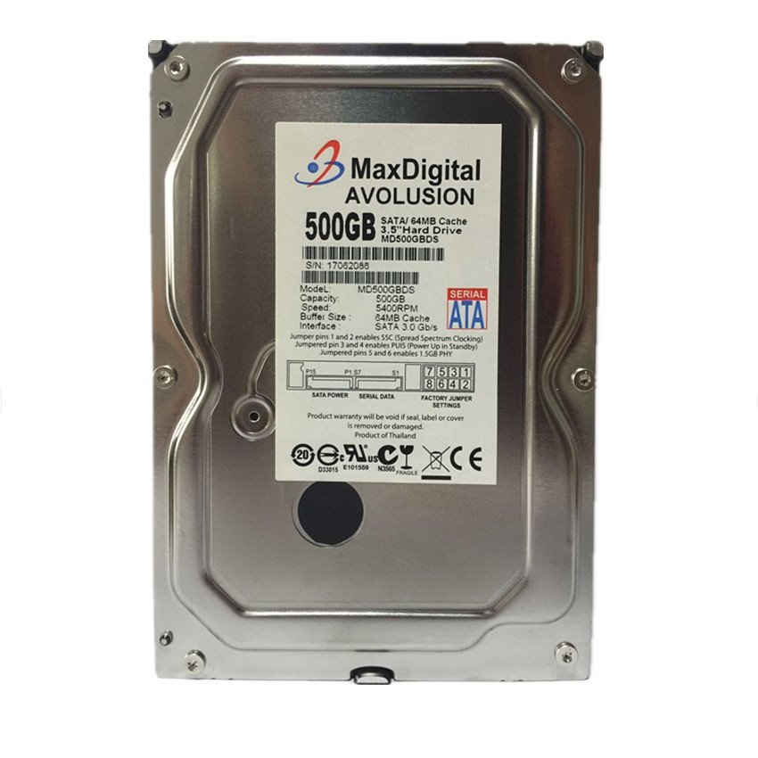 500 GB SATA 3.5inch 5400RPM 64MB Cache Enterprise Grade Security CCTV - Համակարգչային բաղադրիչներ - Լուսանկար 2