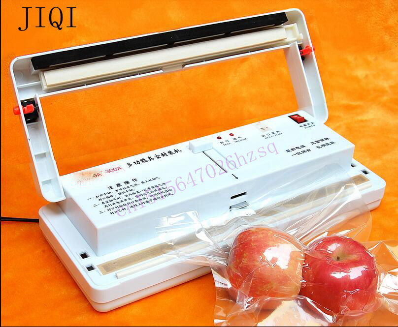 ФОТО Vacuum food sealer Electric Food Packaging Machine Automatic Food Processor compression saver machine