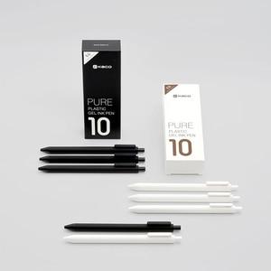 Image 1 - Xiaomi Mijia KACO ג ל עט 0.5mm שחור צבע דיו מילוי ABS פלסטיק עט לכתוב אורך 400MM בצורה חלקה Writting עבור משרד מחקר