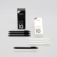 Xiaomi Mijia KACO Gel Pen 0.5mm Black Color Ink Refills ABS Plastic Pen Write Length 400MM Smoothly Writting For Office Study