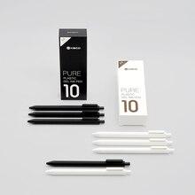 Xiaomi Mijia KACO jel kalem 0.5mm siyah renkli mürekkep yedekler ABS plastik kalem yazma uzunluğu 400MM pürüzsüz yazma ofis için çalışma
