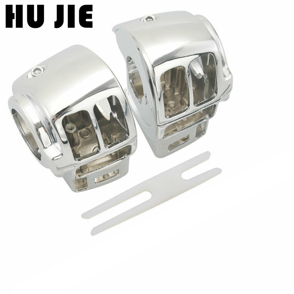 Motorcycle Chrome Switch Housings Cover For Harley FLHTK Ultra Classic Limited 2010 2012 Road Glide FLTR / FLTRI 1998 2009