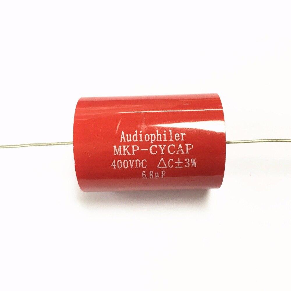 20pcs MKP kondensotor MKP 6 8uf 400v Tubular Audio Capacitor