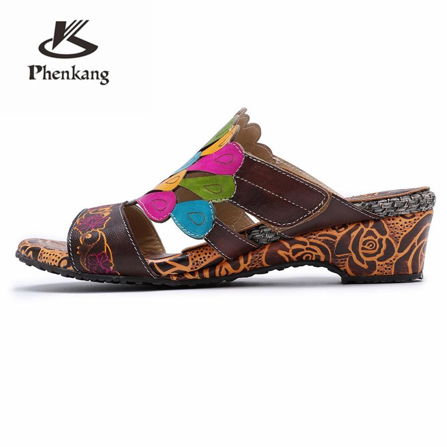 Para Cuero Oxford Gladiador Sandalias Genuino Verano De Mujeres 2019 Las Tacón Mujer La Alto Brown Zapatos Primavera Oxfords SwwdOqA