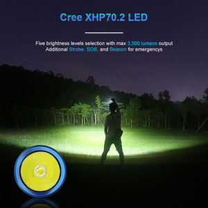 Image 3 - LUMINTOP High Intensity Flashlight ODF30C 3500 Lumens Highlight Design USB Rechargeable IP68 Waterproof  torch for outdoor