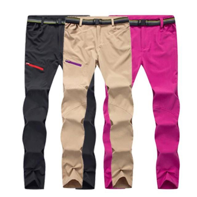 Quick-drying Stretch Pants Men's Outdoor Summer Camping & Hiking Pants Quick-drying Pants Female Couple Quick-drying Trousers