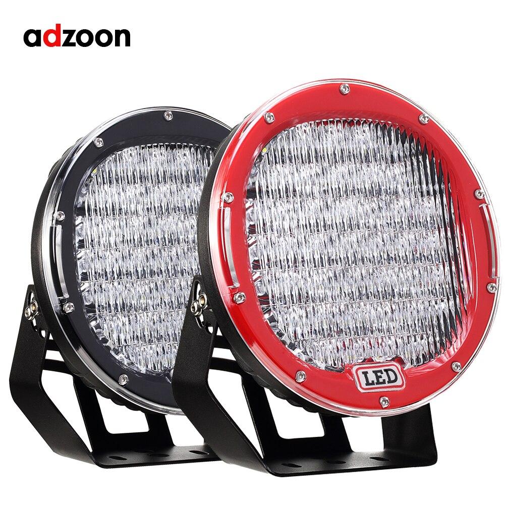 ADZOON 9 pouce LED Travail Light Bar 225 W LED Light Bar 12 V 24 V Spot D'inondation Pour 4WD 4x4 Camion Remorque SUV Offroad Bateau ATV