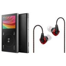 FiiO satışı paket Taşınabilir Hi-Res FiiO Kulaklık Ile Müzik Çalar X3 MKIII F3, MP3 Çalar X3III Kulaklık ile F3