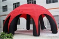 12m Diam  Super Green  Inflatable Spider Tent  For Advertising with 10 Legs