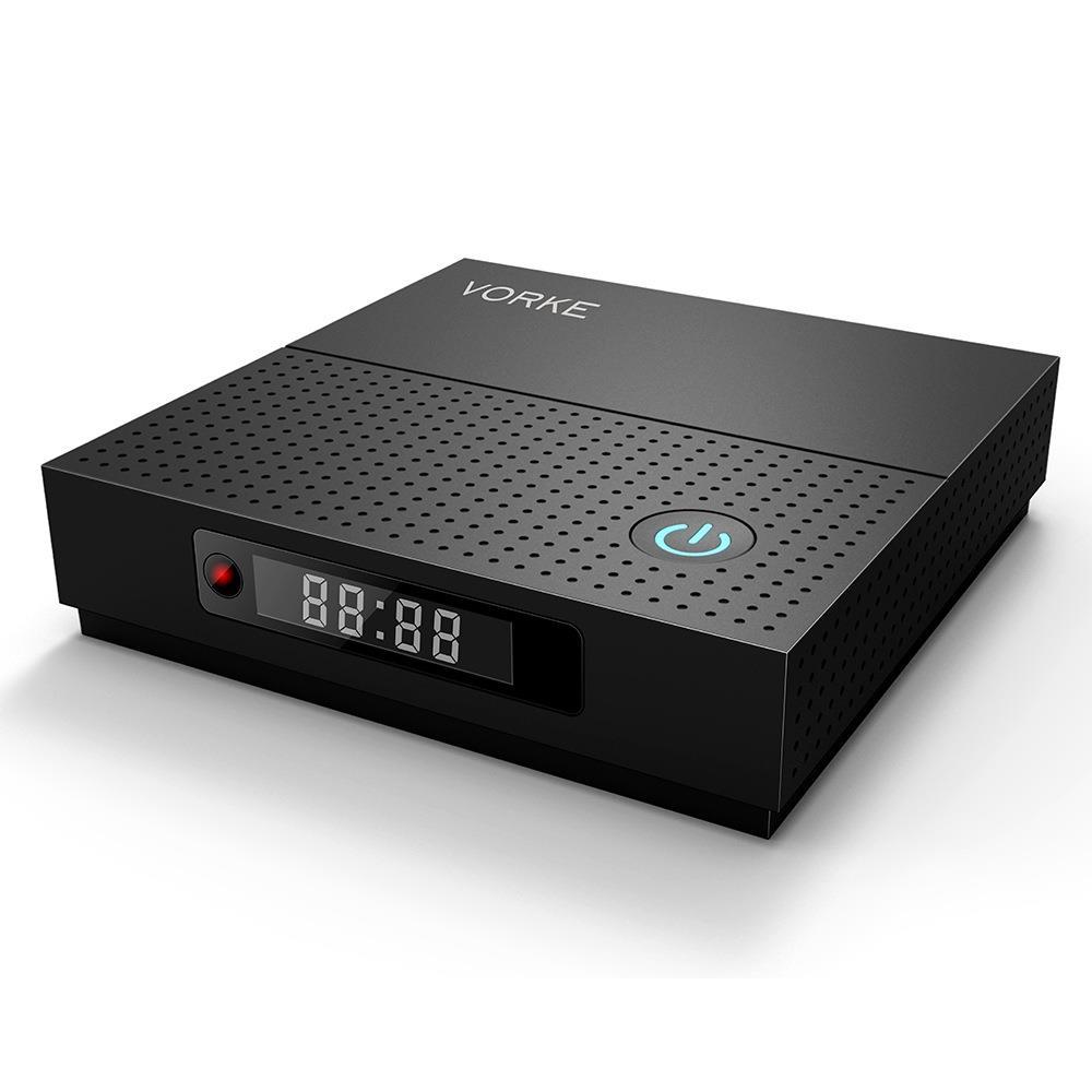 VORKE Z6 Plus android tv box Amlogic S912 smart tv box 3 gb/32g WIFI Bluetooth mini pc 1000 m LAN ordinateur Android 7.1.2 tv box