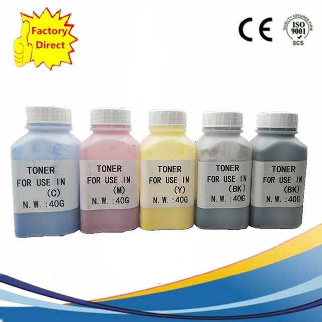 Refill Laser Color Toner Powder Kit for Ricoh MPC 2800 3300 3001 3501 MPC2800 MPC3300 MPC3001 MPC3501 MPC-2800 MPC-3300 MPC-3001 Laser Printer 40g//Bottle,1 Black,1 Cyan,1 Magenta,1 Yellow
