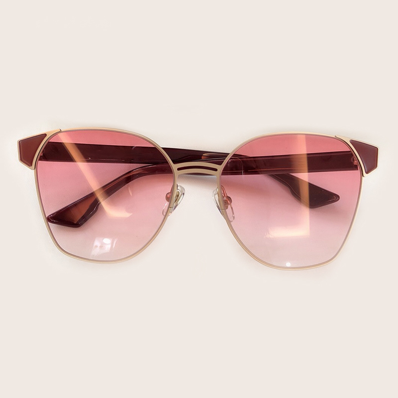 Sunglasses 2019 no4 no2 Luxus Designer Oval Sonnenbrille Retro no3 Rahmen Sunglasses Weibliche Sunglasses no5 Frauen Marke Sunglasses Sunglasses Spiegel Metall No1 BBwRTfqt