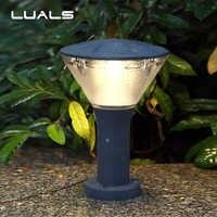 Открытый газон лампы на солнечных батареях сообщества дорожное освещение современный светодиодный свет сада роскошный сад лампа Водонепр...