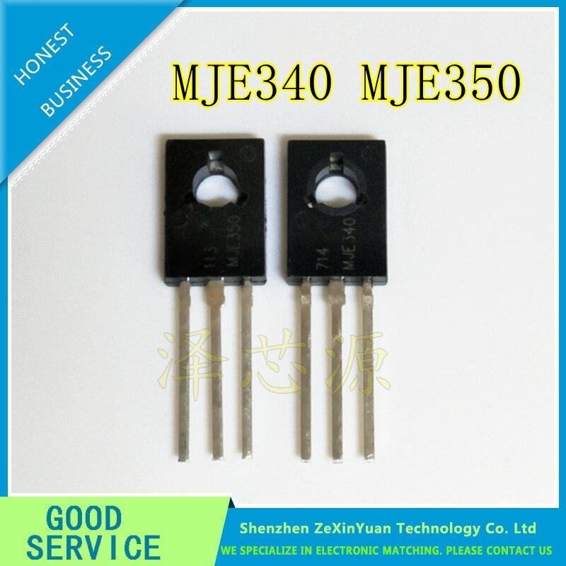 10PAIRS=20PCS MJE350 MJE340 JE340G JE350G PURE IMPORTED ANSENMEI