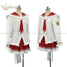 Kisstyle Moda Aria El Escarlata Ammo Hotogi Shirayuki Cosplay Uniforme Ropa Traje