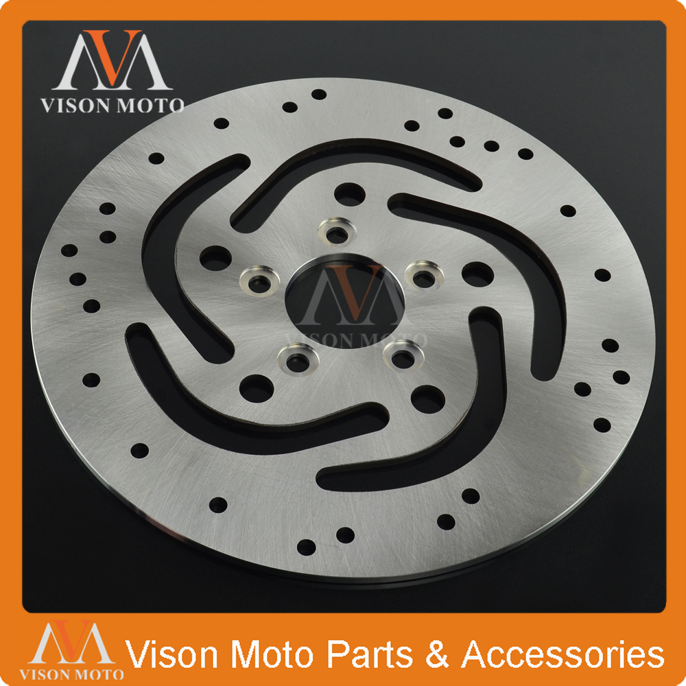 Motorcycle Rear Brake Disc Rotor For XL883 00-10 XLH883 00-03 XL1200 00-12 XLH1200 FXD FXDC FXDL FXDX FXDWG FLST FLSTC 1450 9vn1030d2l 00 10