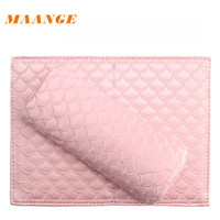 MAANGE 1set Pillow Salon Hand Holder Pad Set Nail Arm Rest Manicure Nail Tools For
