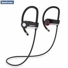 Lewinner C6 Bluetooth kulaklık 4.1 Kablosuz Kulaklık kulaklık Bluetooth Kulaklık Spor Koşu Stereo mikrofonlu tekli kulaklıklar