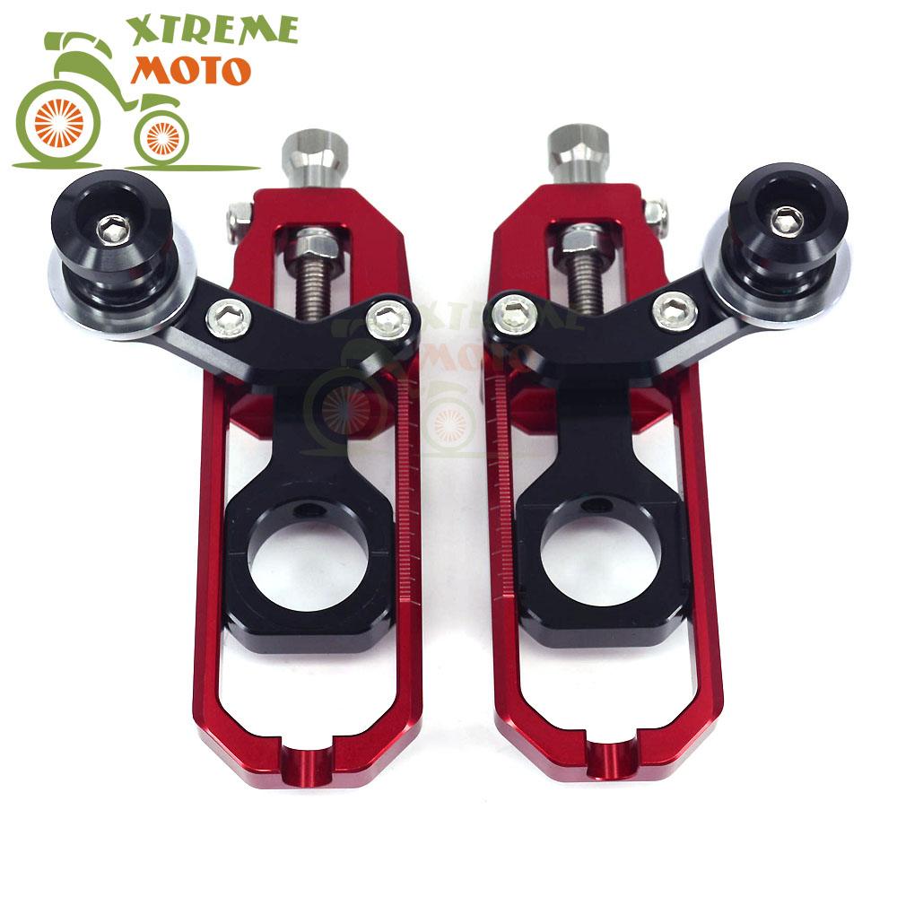 Motorcycle CNC Chain Adjusters Tensioners With Spool Fit for HONDA CBR1000RR 2008-2012 08 09 10 11 12 arashi motorcycle radiator grille protective cover grill guard protector for 2008 2009 2010 2011 honda cbr1000rr cbr 1000 rr