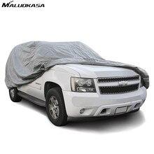 MALUOKASA Completo SUV Coche Cubre Sol Anti-Ultravioleta Al Aire Libre de Interior de Nieve Tamaño M L XL Impermeable Espesar Caso polvo Protección Resistente venta