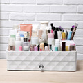 Cosmetic Organizer Drawer Makeup Case Suitcase Paste Lipstick, Gloss Holder Box Cosmetic Bag Organizer Shelf