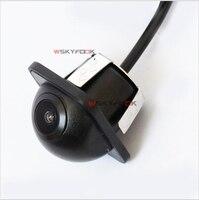 Visione Notturna 600L CCD Grandangolare della Macchina Fotografica Anteriore/Retrovisione Backup Telecamera di retromarcia Kit Impermeabile Supporto NTSC/PAL
