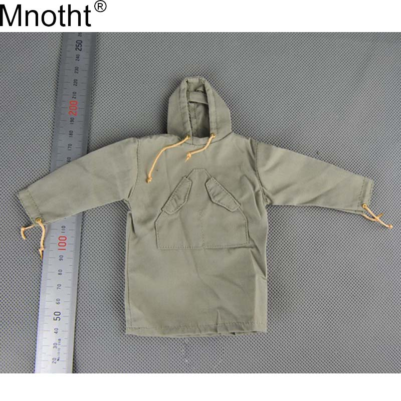 Mnotht 1/6 Scale Clothes Model US Mountain Brigade Soldier Jacket Clothes Toy Male Smock For 12'' Soldier Doll Action Figure ma 1 6 scale figure clothes for 12 action figure doll accessories usmc uniform for male figure doll and shoes not included