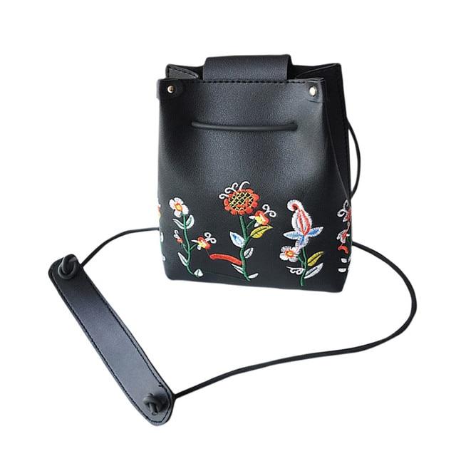 Women S Handbags School Bags Retro Female Simple Fl Small Shoulder Messenger Bag Student Crossbody Handbag